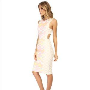 Mara Hoffman printed cutout midi dress